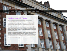 Tablet Preview of gahk.dk